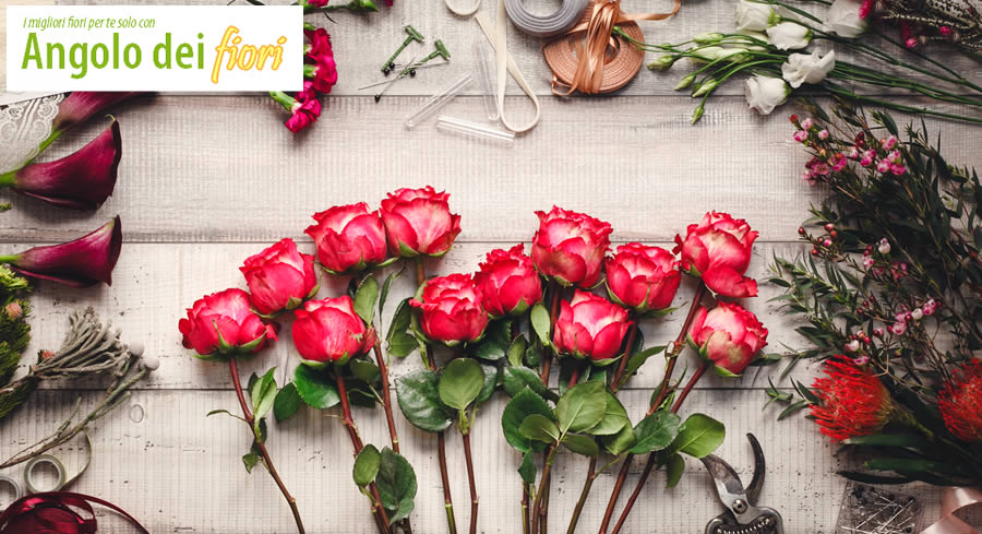 Spedizione fiori Marino a domicilio - Spedire fiori per matrimonio a Marino - Vendita fiori low cost a Marino