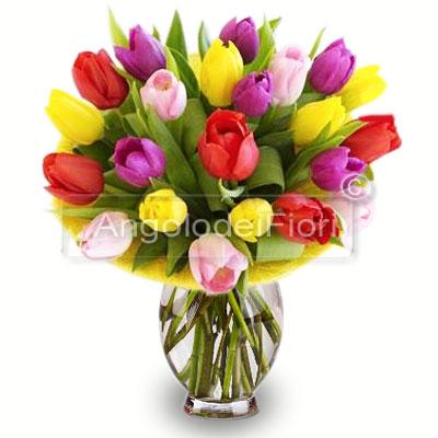 Bouquet Fantasy di Tulipani