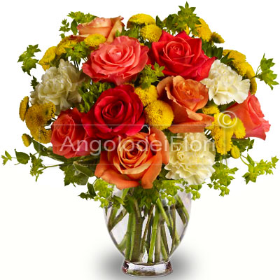 Bouquet di Rose Arancio