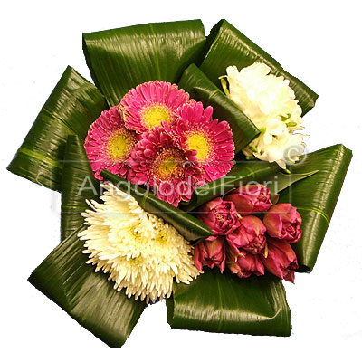 Poker Bouquet of Flowers