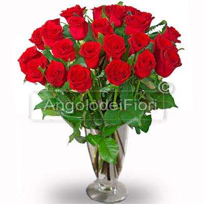 Ventiquattro Rose Rosse