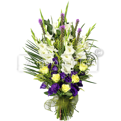 Bunch of Flowers for Mourning