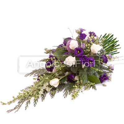 Bunch of Flowers with Purple Flowers
