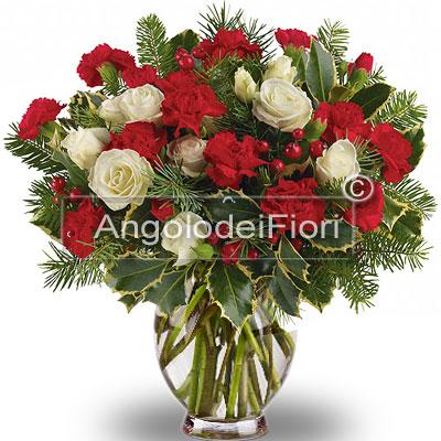 Acquisto in internet bouquet con fiori natalizi for Bouquet internet