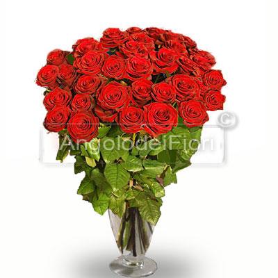 Trentasei Rose Rosse