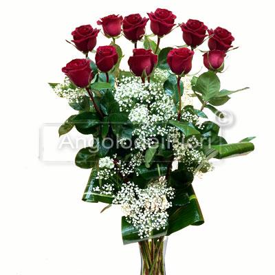 Undici Rose rosse per Laurea