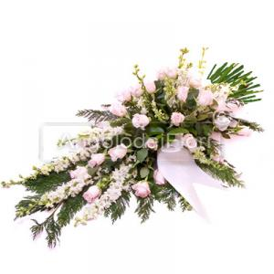 Funeral Bunch with pink flowers