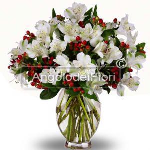 Bouquet di fiori Natalizi