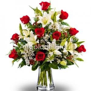 Extra Luxury Bouquet of Flowers Christmas