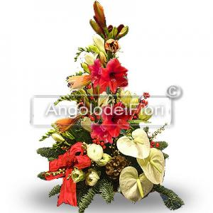 Floral Composition Christmas