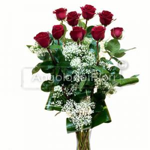 Nove Rose Rosse