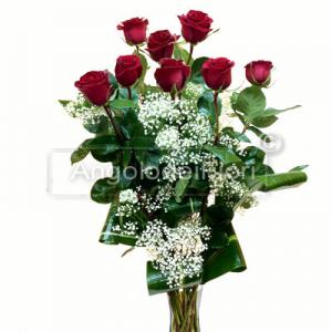 Eight Red Roses