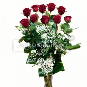Ten Red Roses