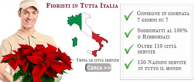 Elenco Fioristi in Italia