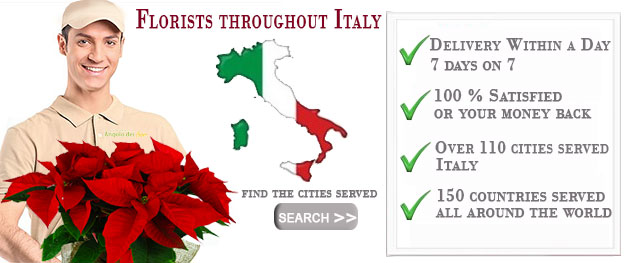Florists throughout Italy