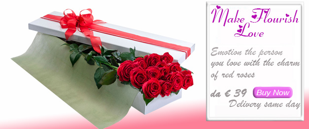 Bouquet and Bunch of roses dedicated to love