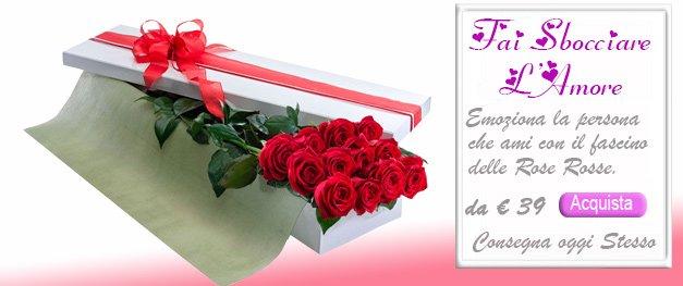 Il Rgalo più apprezzato dalle donne sono le rose rosse