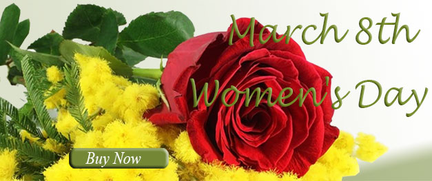 Flowers for women's day